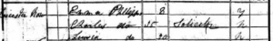 PHILLIPS Henry 1841 census 2