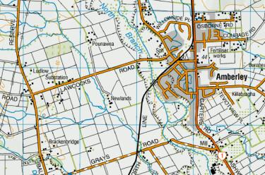 Brackenbridge Map
